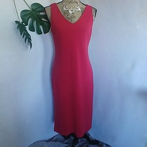 Lauren Ralph Lauren Red Slip on dress